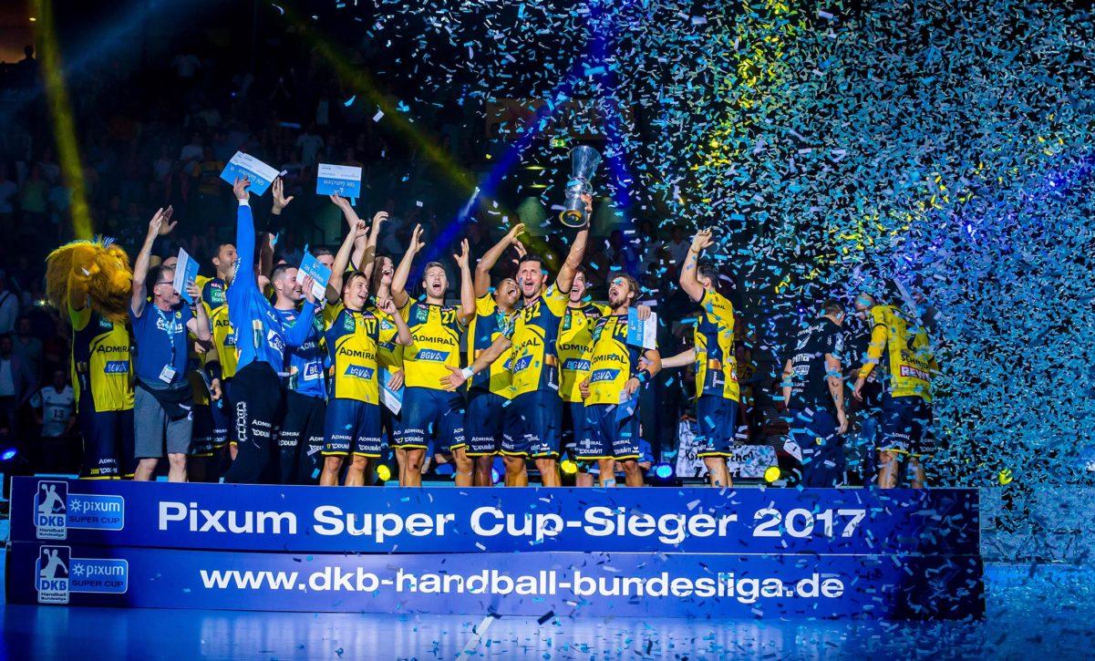 Pixum Supercup Sieger Rhein-Neckar Löwen