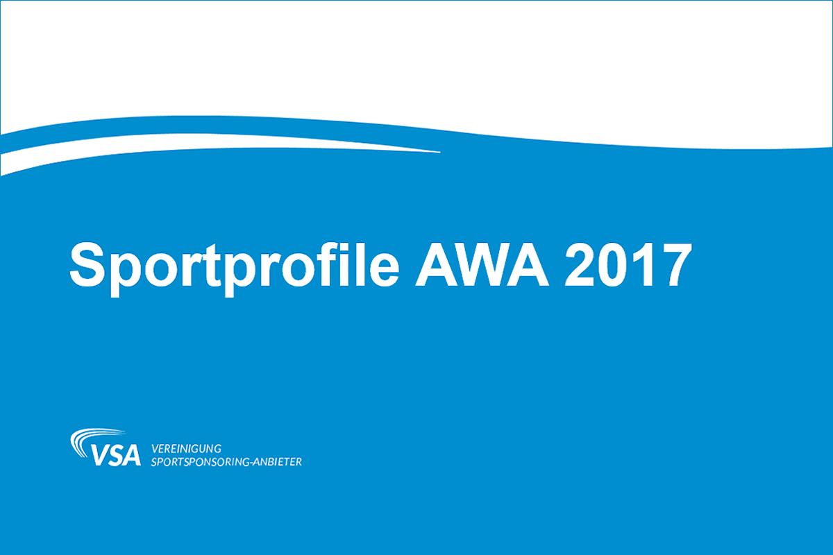 Sportprofile AWA 2017