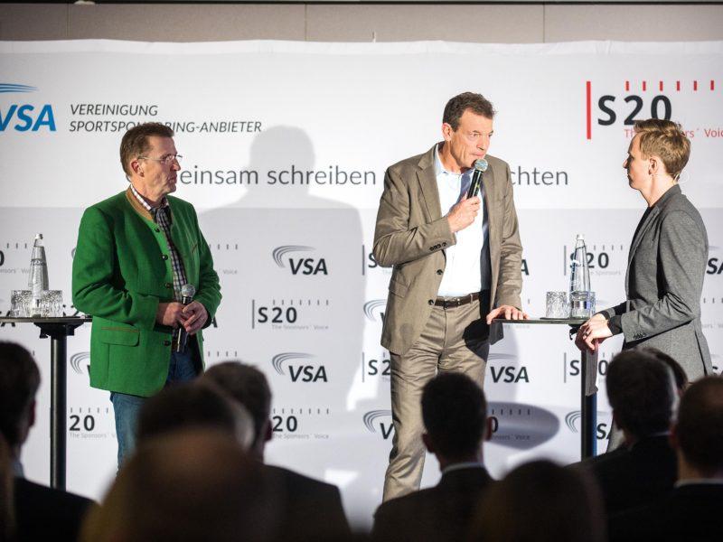 Bildunterschrift: v. l. r. Josef Stadtfeld, Andreas Jung und Jochen Breyer, Bildnachweis: VSA, S20, Sophie Schlueter